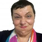 Teresa puffed up