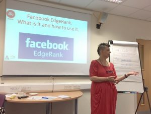 Marketing Facebook Edgeranking